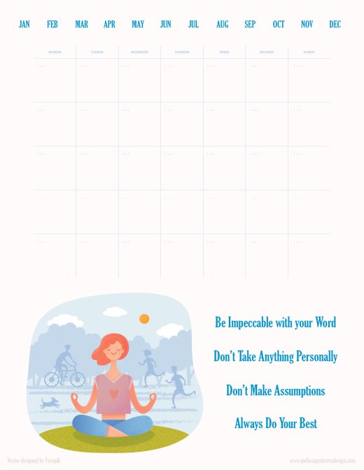 Free Calendar Poster